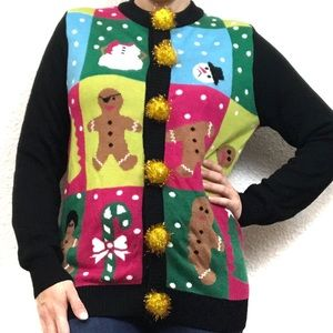 Tipsy Elves | Ugly Christmas Sweater Gingerbread